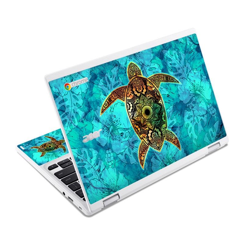 Sacred Honu Acer Chromebook R 11 Skin
