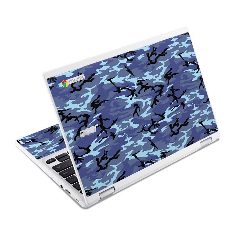 Sky Camo Acer Chromebook R 11 Skin