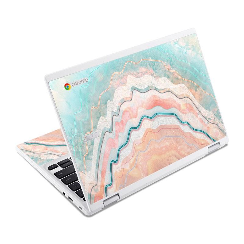 Spring Oyster Acer Chromebook R 11 Skin