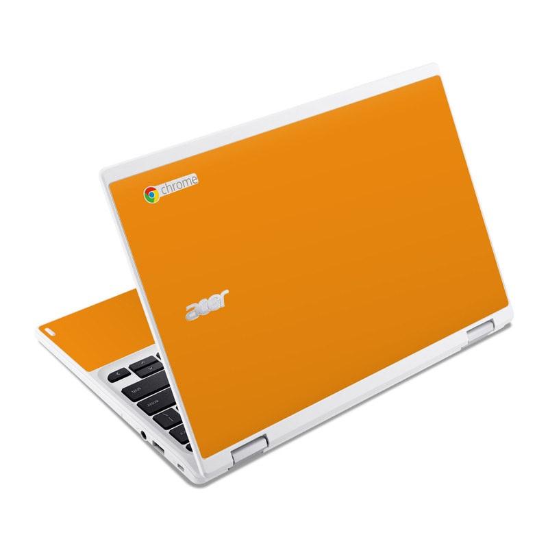 Solid State Orange Acer Chromebook R 11 Skin