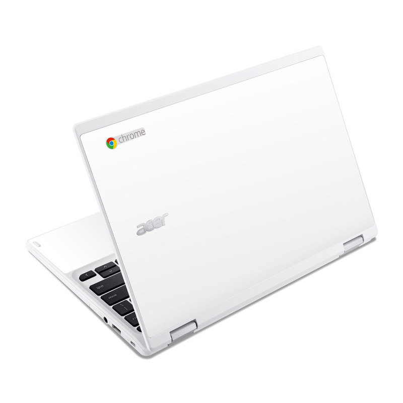 Solid State White Acer Chromebook R 11 Skin