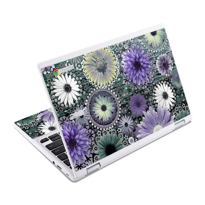 Tidal Bloom Acer Chromebook R 11 Skin