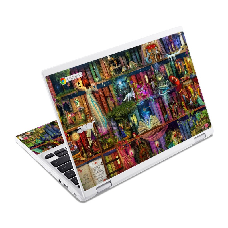Treasure Hunt Acer Chromebook R 11 Skin