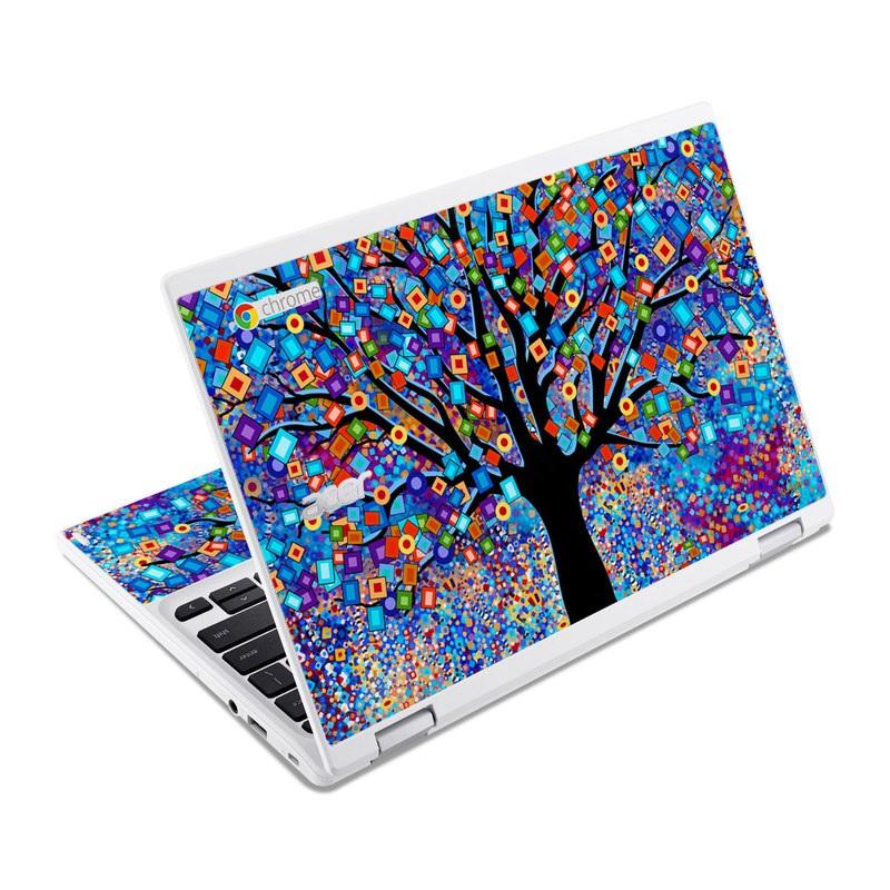 Tree Carnival Acer Chromebook R 11 Skin