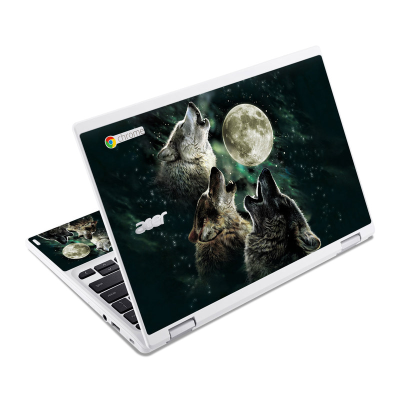 Three Wolf Moon Acer Chromebook R 11 Skin