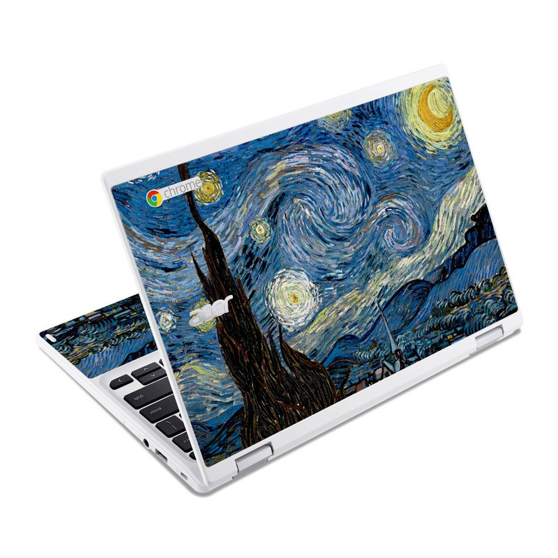 Starry Night Acer Chromebook R 11 Skin