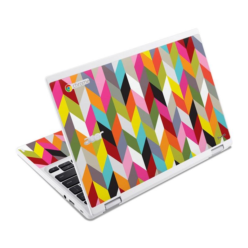 Ziggy Condensed Acer Chromebook R 11 Skin