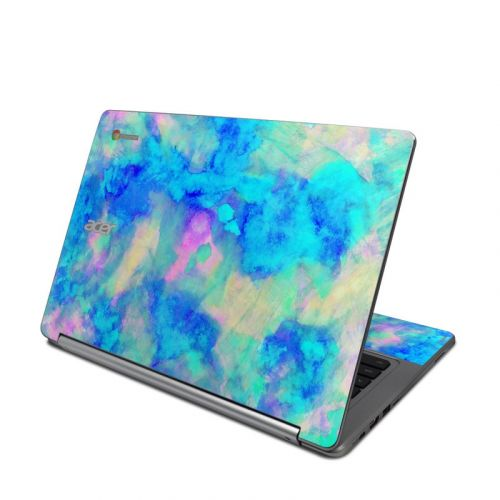 Electrify Ice Blue Acer Chromebook R 13 Skin