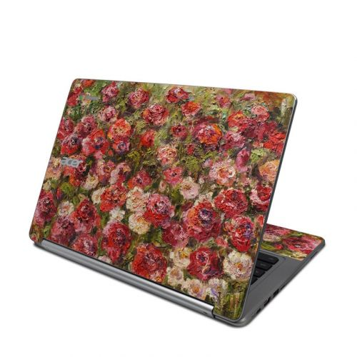Fleurs Sauvages Acer Chromebook R 13 Skin