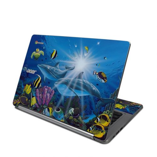 Ocean Friends Acer Chromebook R 13 Skin