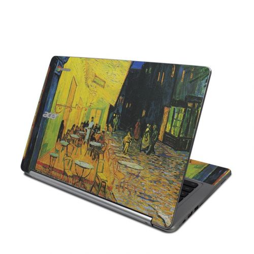 Cafe Terrace At Night Acer Chromebook R 13 Skin