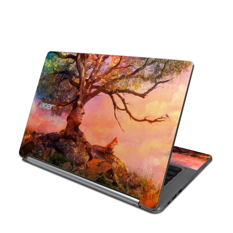 Fox Sunset Acer Chromebook R 13 Skin