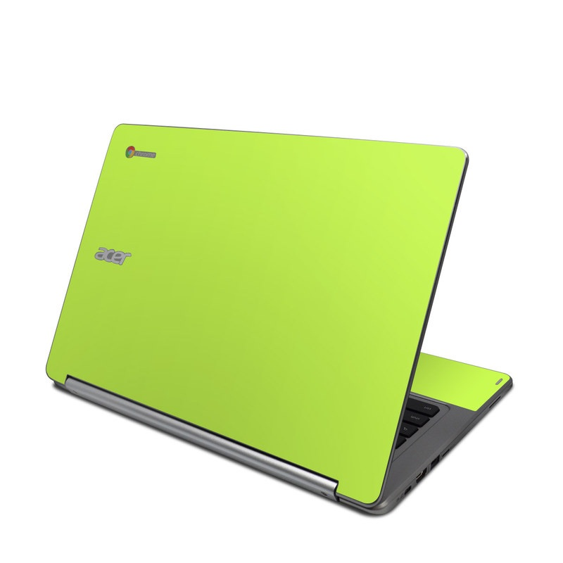 Solid State Lime Acer Chromebook R 13 Skin