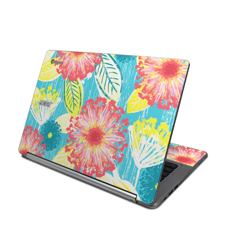 Tickled Peach Acer Chromebook R 13 Skin