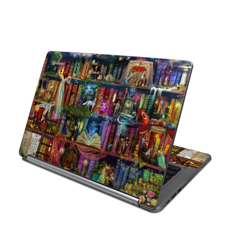 Treasure Hunt Acer Chromebook R 13 Skin