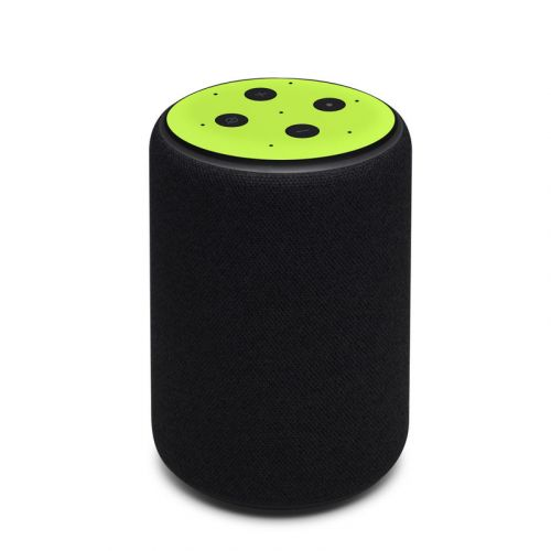 Solid State Lime Amazon Echo 3rd Gen Skin