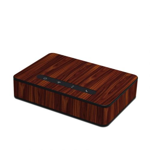 Dark Rosewood Amazon Echo Connect Skin