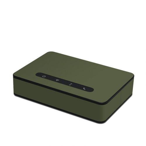 Solid State Olive Drab Amazon Echo Connect Skin