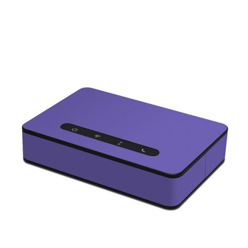 Solid State Purple Amazon Echo Connect Skin