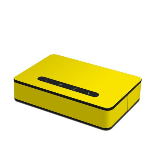 Solid State Yellow Amazon Echo Connect Skin
