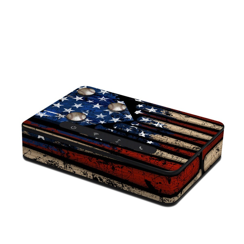 Old Glory Amazon Echo Connect Skin