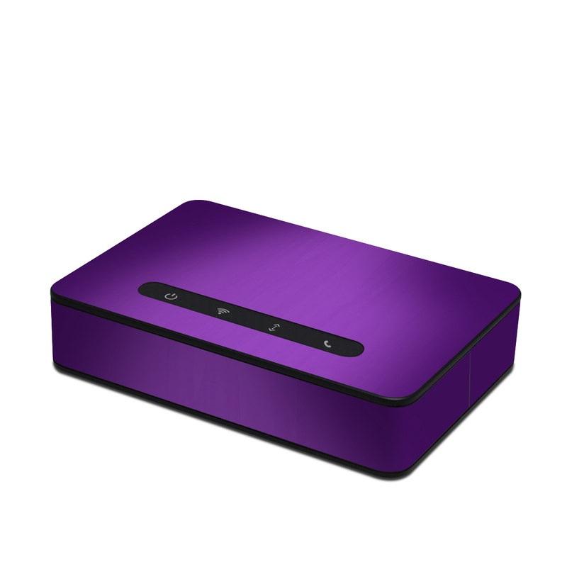 Purple Burst Amazon Echo Connect Skin