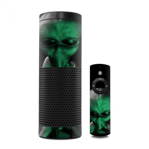 Abduction Amazon Echo Skin