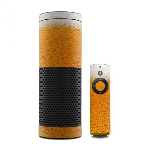 Beer Bubbles Amazon Echo Skin