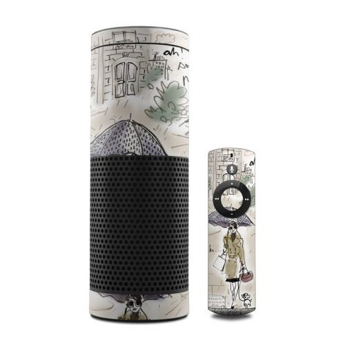 Ah Paris Amazon Echo Skin