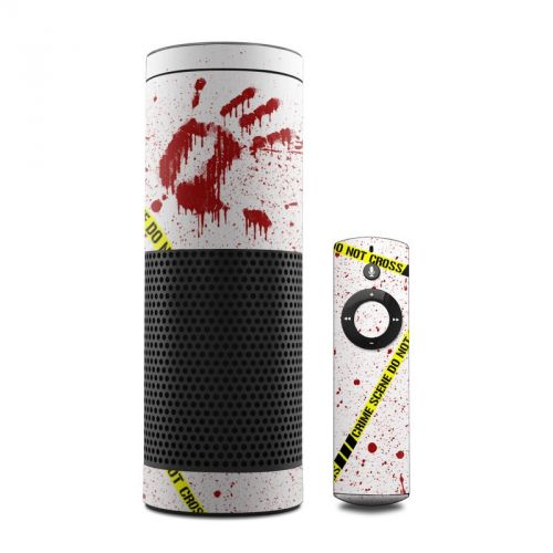 Crime Scene Revisited Amazon Echo Skin