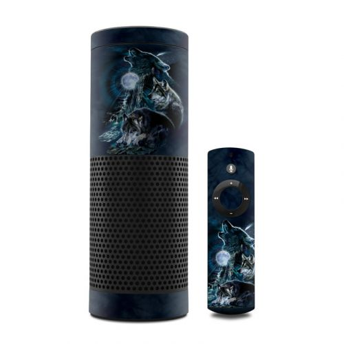 Howling Amazon Echo 1st Gen Skin