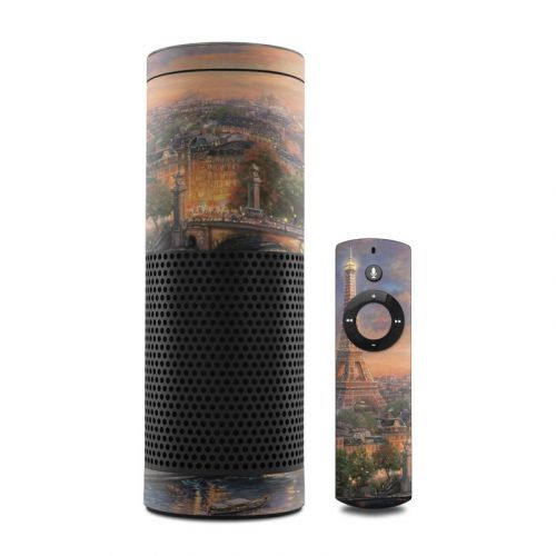 Paris City of Love Amazon Echo Skin