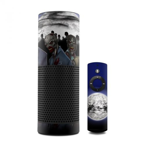 Undead Amazon Echo Skin