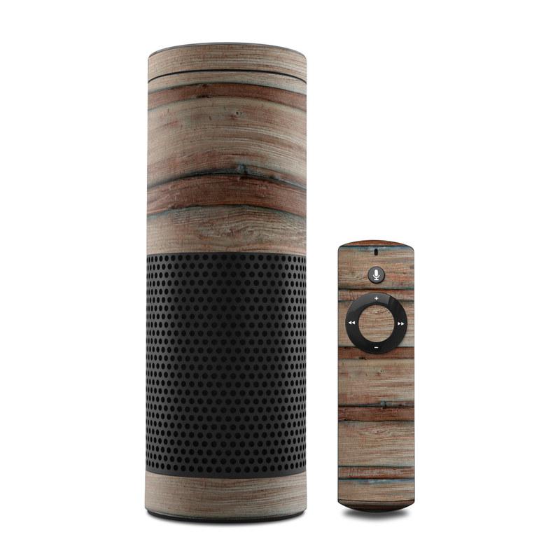 Boardwalk Wood Amazon Echo Skin