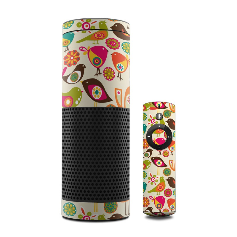 Bird Flowers Amazon Echo 1st Gen Skin