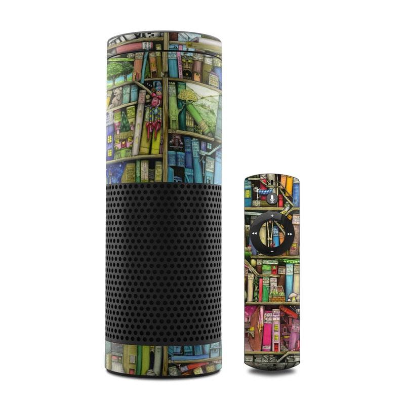 Bookshelf Amazon Echo 1st Gen Skin