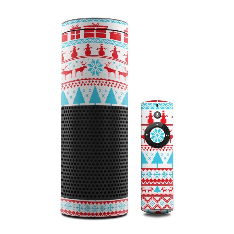 Comfy Christmas Amazon Echo 1st Gen Skin