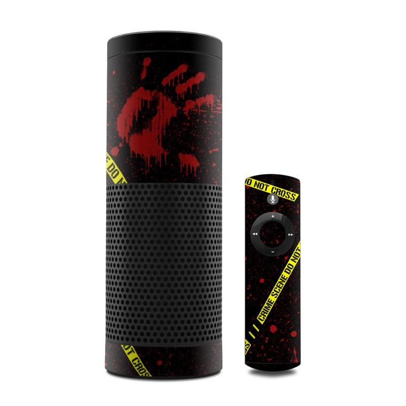 Crime Scene Amazon Echo Skin