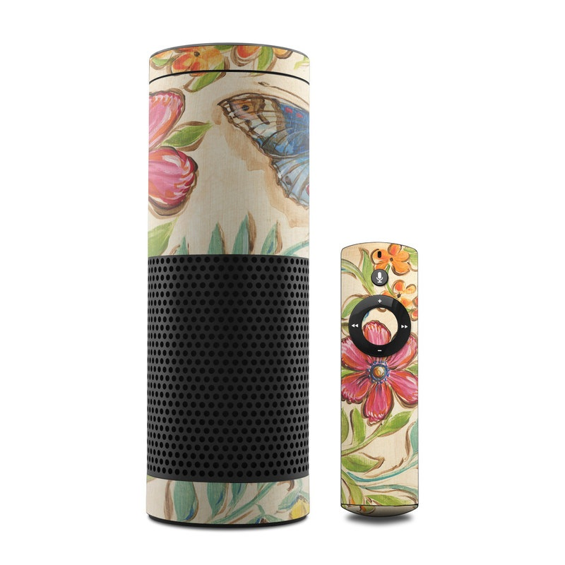 Garden Scroll Amazon Echo Skin
