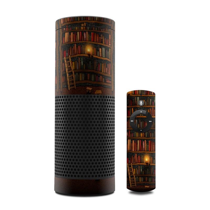 Library Amazon Echo 1st Gen Skin