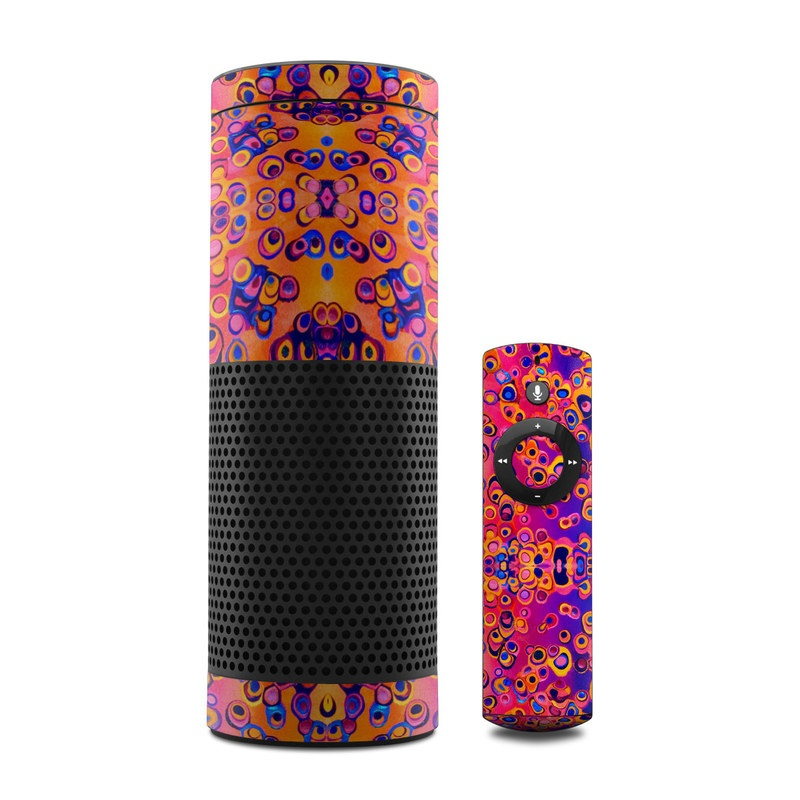 Moonlight Under the Sea Amazon Echo Skin