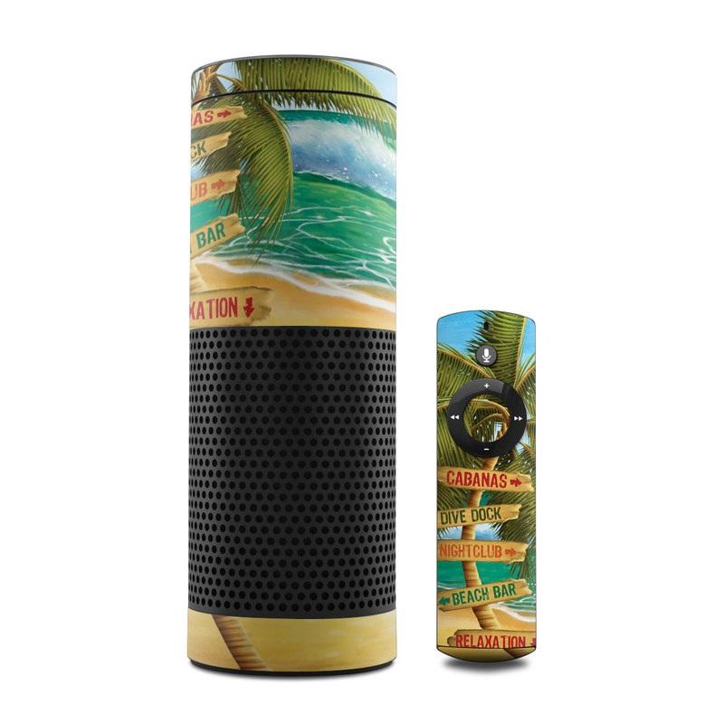 Palm Signs Amazon Echo 1st Gen Skin