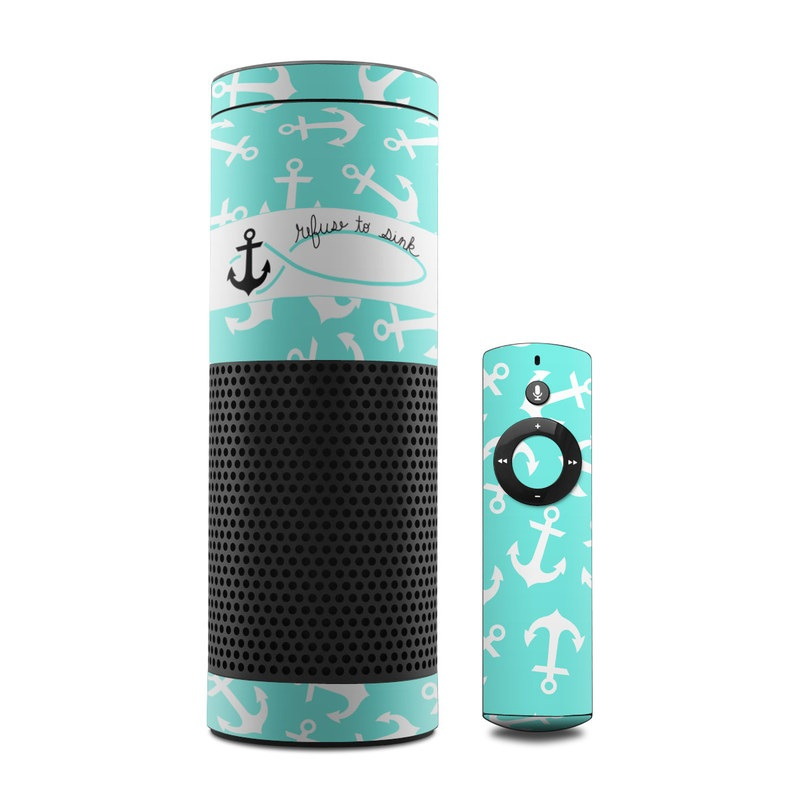 Refuse to Sink Amazon Echo 1st Gen Skin