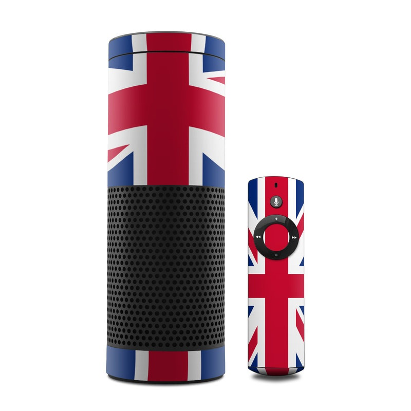 Union Jack Amazon Echo Skin