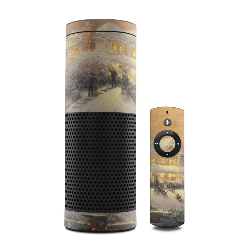 Victorian Christmas Amazon Echo 1st Gen Skin