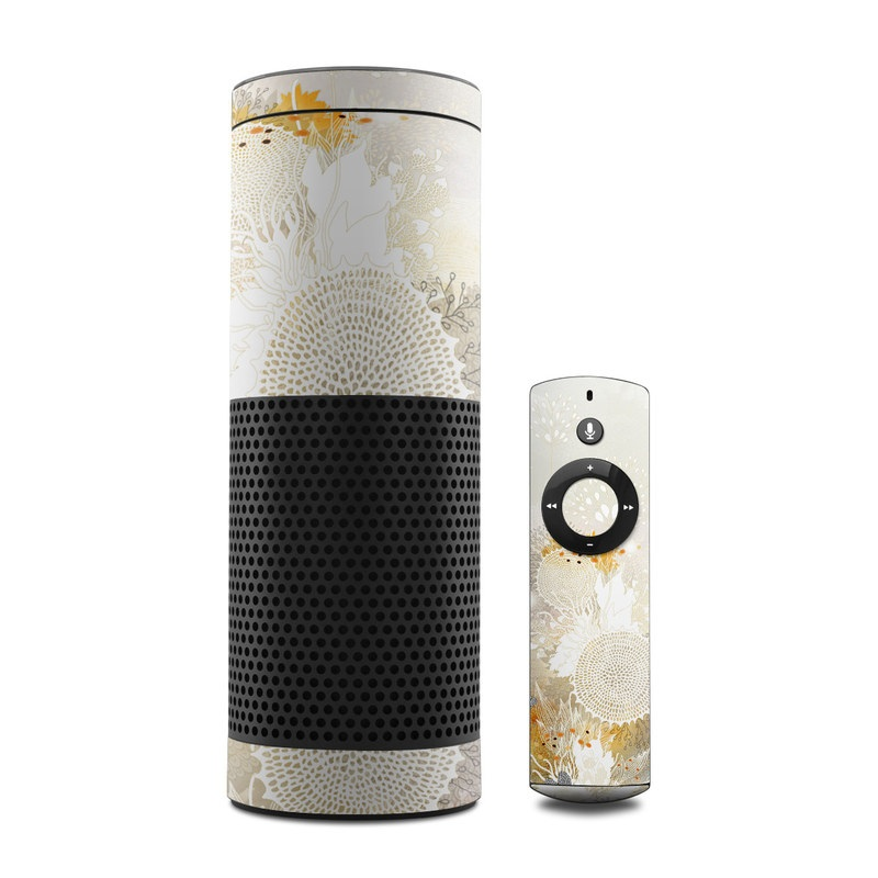 White Velvet Amazon Echo 1st Gen Skin