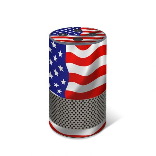 USA Flag Amazon Echo 2nd Gen Skin