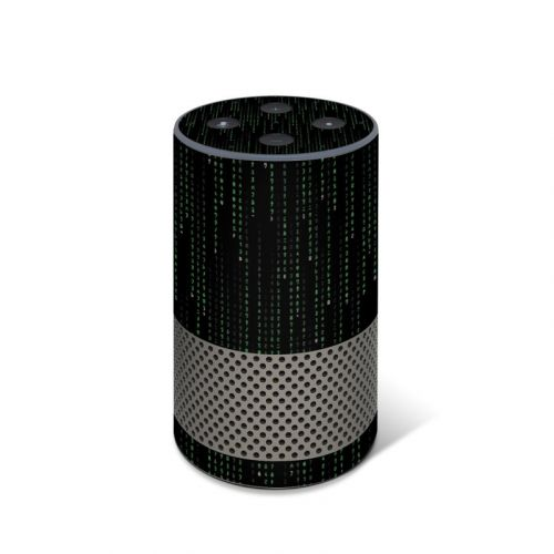 Matrix Style Code Amazon Echo 2nd Gen Skin