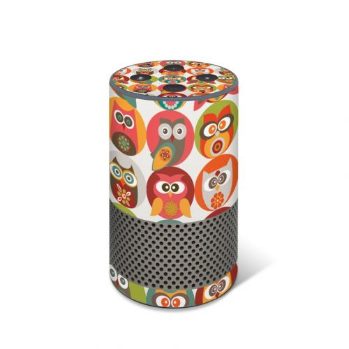 Owls Family Amazon Echo 2nd Gen Skin