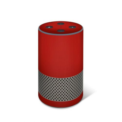Red Burst Amazon Echo 2nd Gen Skin